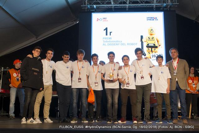 Telinformática en la First Lego League